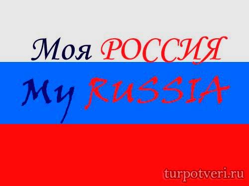 Моя россия такой логотип будет