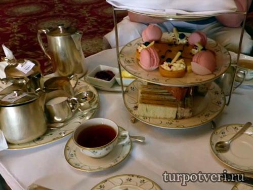 Чайная церемония в Англии