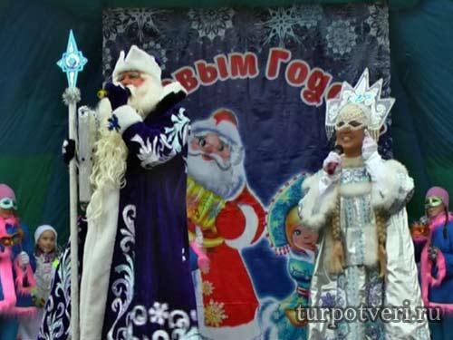 Дед Мороз едет в Тверь