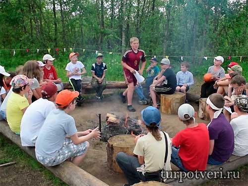 Детский туристический лагерь