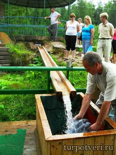 Целебная вода Оковецкого источника