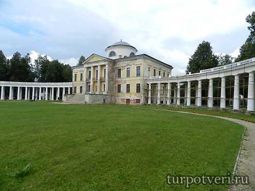 Главный дом Знаменское-Раек