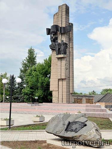 Обелиск победы в Бежецке