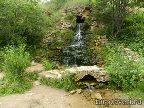 Водопад в Тверской области