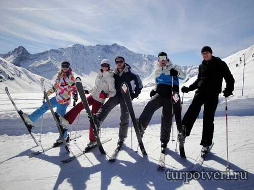 Горные лыжи в декабре куда поехать