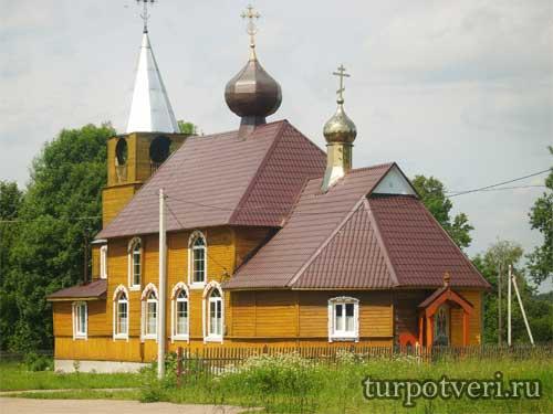 Деревянная церковь Иова и Тихона