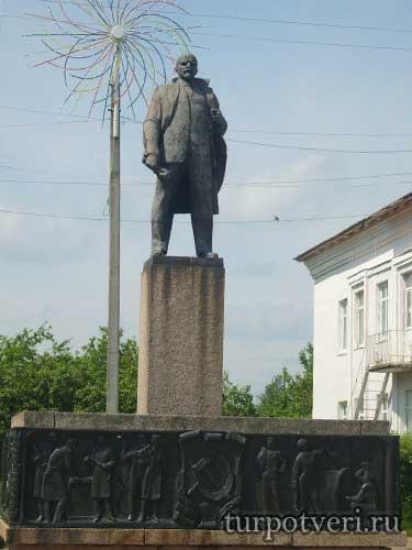 Памятник Ленину в Андреаполе