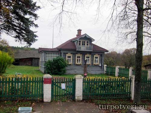 Дом музей Калинина в Верхней Троице