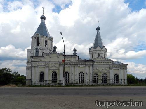 Успенская церковь в Лихославле