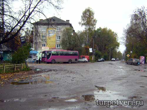 Автобусное сообщение Тверь-Торжок