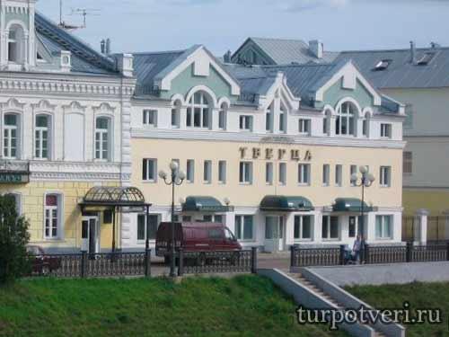 Гостиница Тверца в Торжке