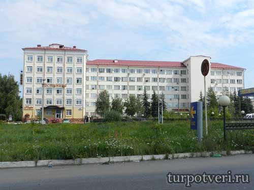 Гостиница Октябрьская в Твери