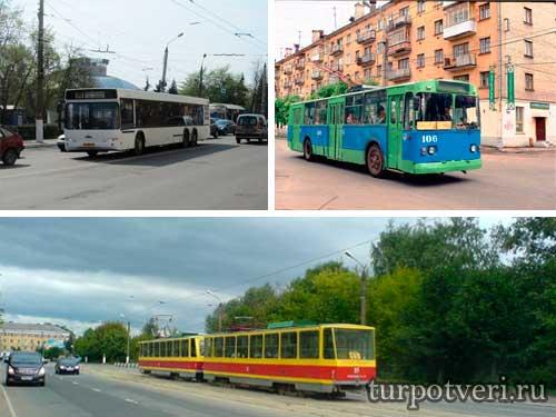 Транспорт в городе Твери