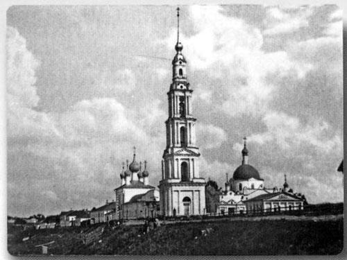 Колокольня Калязин старые фото