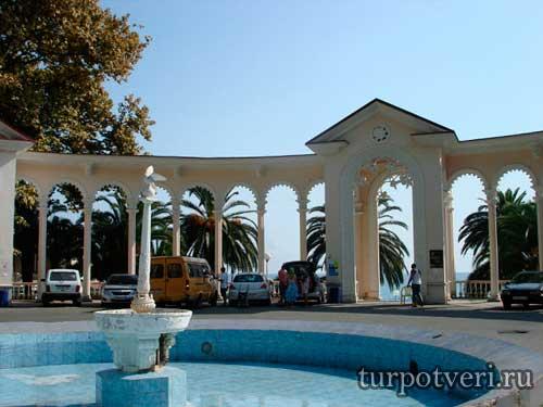 Лучшие места для отдыха в Абхазии