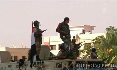 Меры безопасности в Египте