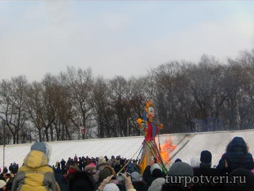 Праздник Масленицы в Твери