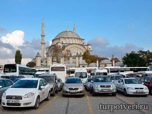 Романтичный город Стамбул