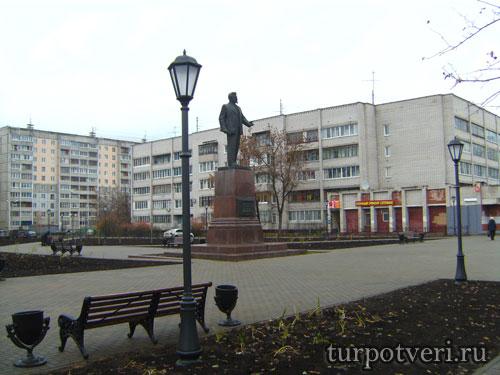 Сквер на проспекте Калинина