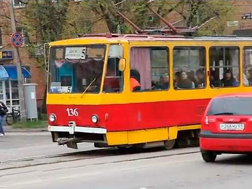 Трамвай в Твери