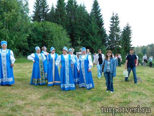 Праздник Троицкие гуляния