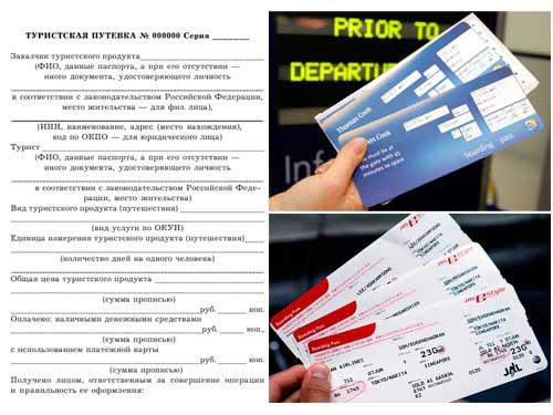 Туроператоры обязаны выдавать туристам документы до начала тура