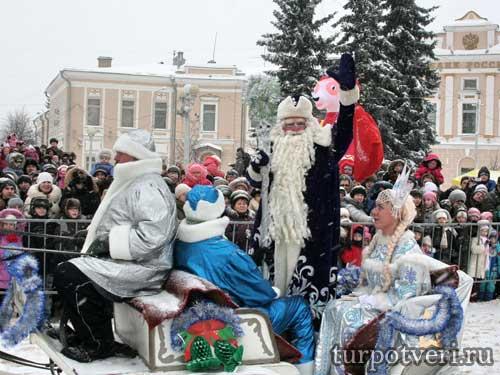 27 декабря приедет Дед Мороз