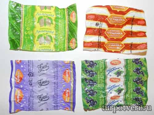 Выставка конфетных фантиков