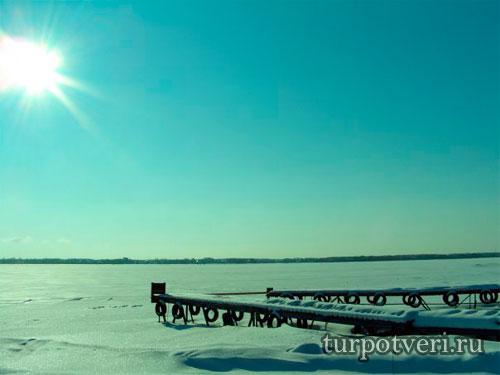 Зимний отдых на Селигере