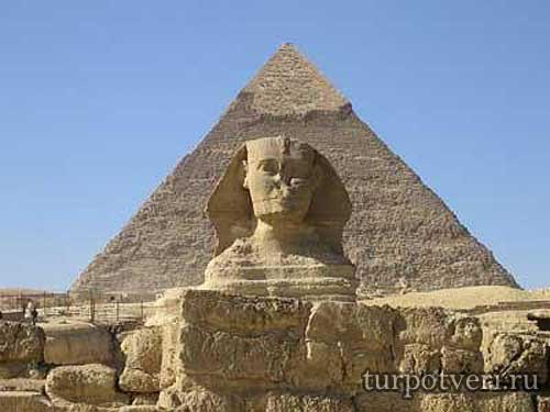 Пирамида Хеопса в Египте