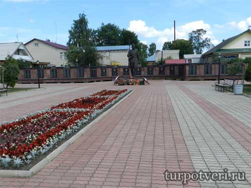 Мемориальный комплекс в Мышкине