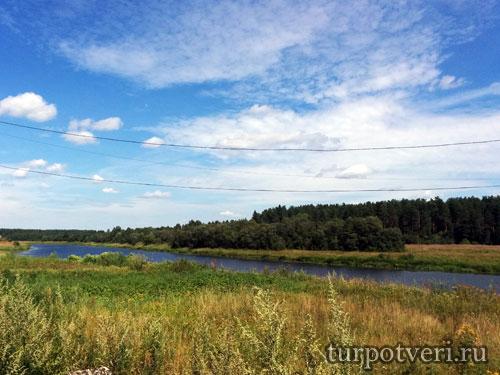 Река Медведица в Верней Троице