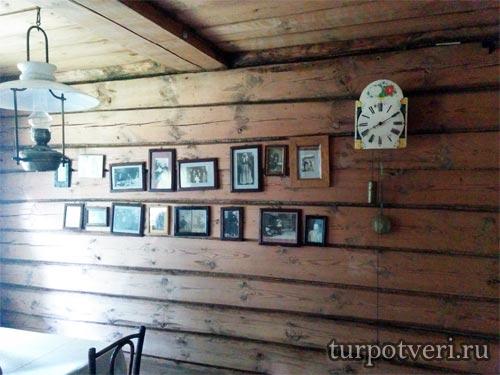 Столовая в доме музея Калинина