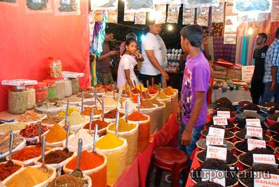 Рынки на Гоа