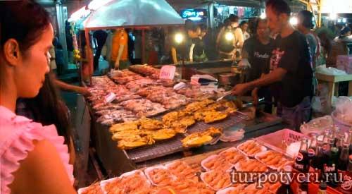 Рынки в Паттайе