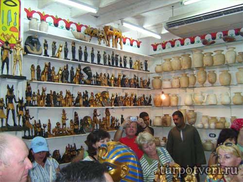 Сувениры из Египта