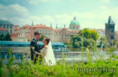 Свадьба в Чехии в замке