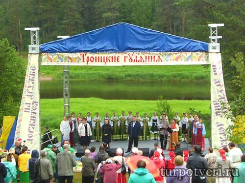 троицкие гуляния в василево 2017