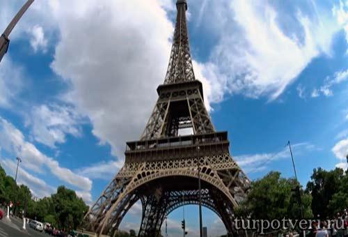 Туристический Париж
