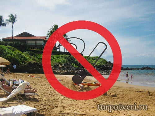 Запрет на курение на популярных пляжах Таиланда