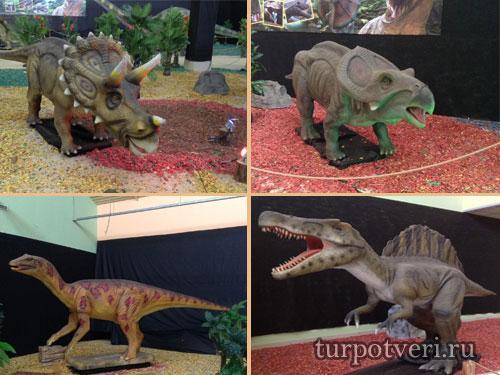 В Твери открылась выставка динозавров