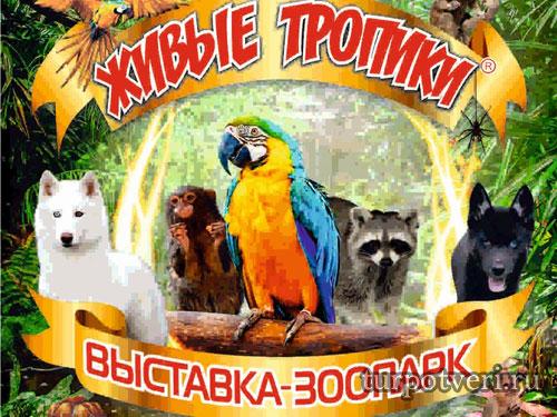 Выставка-зоопарк Живые тропики в Твери