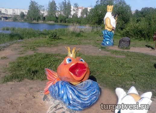 Золотая рыбка в Конаково