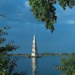 Колокольня в воде Калязин