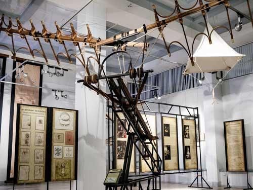 Выставка изобретений Леонардо да Винчи в Твери