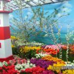 Выставка тюльпанов в Зеленстрой в Твери